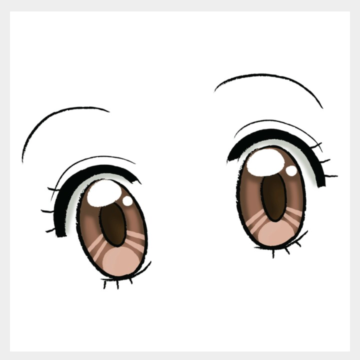 How To Draw Anime Eyes An Easy Easy Comprehensive Tutorial