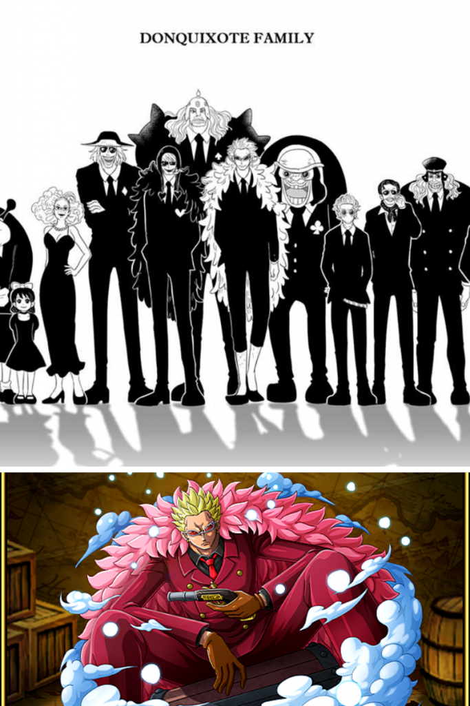 doflamingo pirates