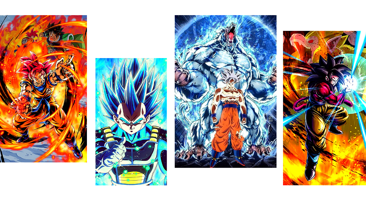 Dragon Ball Super Saiyans
