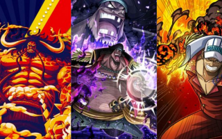 Top 10 strongest characters in One piece