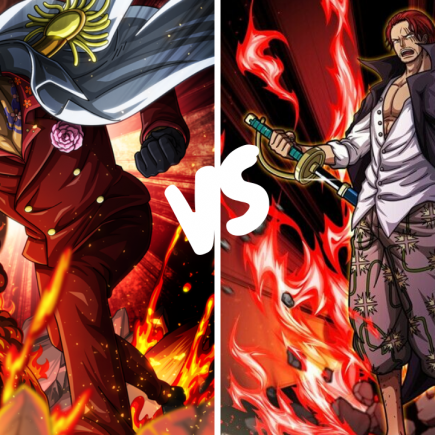 Shanks vs Akainu