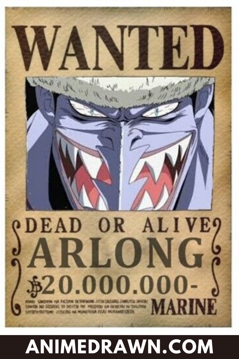 List of one piece bounties