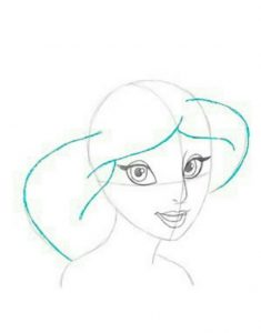 draw so cute disney princesses