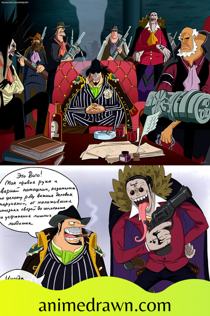 one piece pirate crews